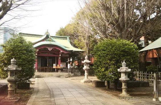 亀岡八幡宮本殿