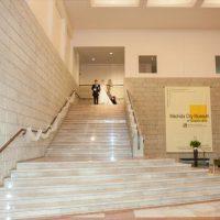 国際版画美術館大階段