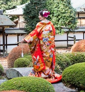 和庭園で前撮りプランのイメージ