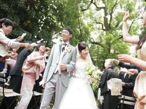 自由な結婚式